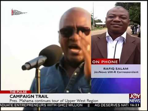 President Mahama dismiss claims that NHIS has collapsed - The Pulse on Joy News (18-11-16)