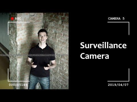 Surveillance Camera with DaVinci Resolve & Fusion