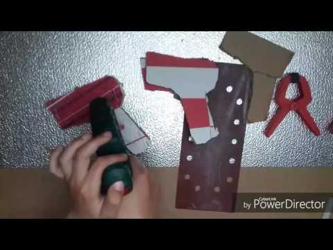 How to make  handle for nerf