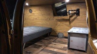 Most Affordable CAMPER VAN Build UNDER $170!!!