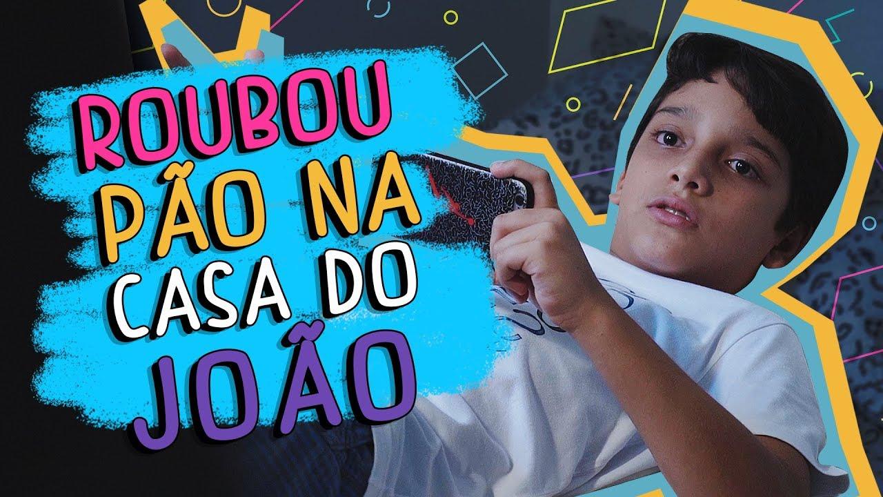 Roubou Pão na Casa do João - DESCONFINADOS (Erros no Final)