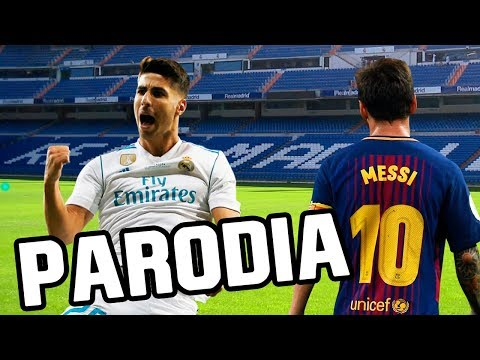 Canción Real Madrid vs Barcelona 2-0 (Parodia Una Lady Como