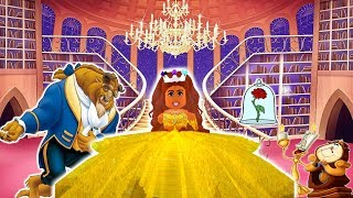 🥀A ROBLOX LOVE STORY (SHORT MOVIE) BEAUTY & THE BEAST⚘💛💙