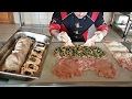 Chicken Roll Wrapping Recipe With Spinach