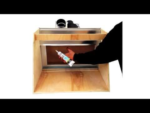 DIY Hobby Spray Booth - Vent Works
