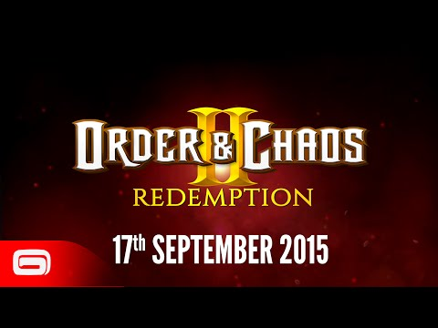 Order & Chaos 2: Redemption - Prelaunch Trailer