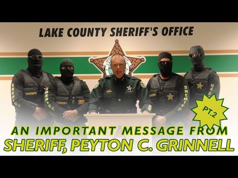 Lake County Sheriff's Department Asserts Total Dominance
