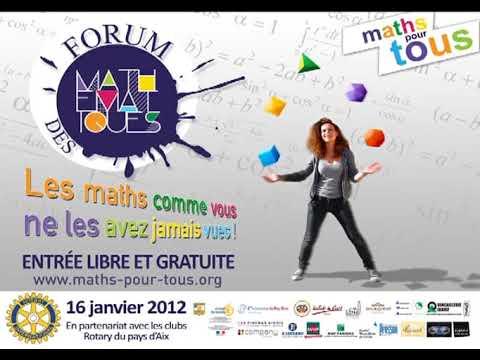 Interview Forum Maths Pour Tous - Rotary Aix - FrancebleueProvence