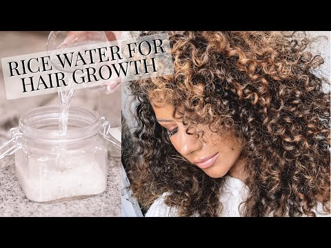 Rice Water To Grow Long, Thick Hair FAST!