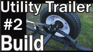 Homemade Utility Trailer Project Build 2
