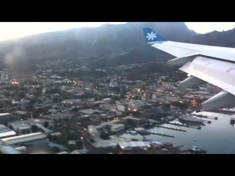 Tahiti landing
