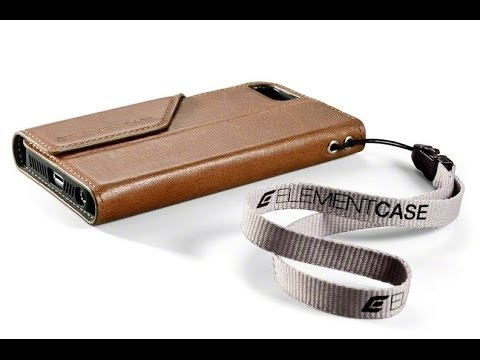 Element Case Soft Tec Wallet for iPhone 5 & 5s in Leather