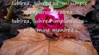 """Symona Rusu """" Iubirea, iubirea"""" ( Cu haina Iubirii s-acopar mereu)"""