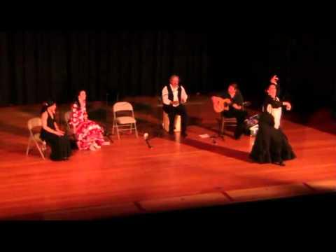 """Yaelisa """"por Solea"""" and """"Fin de Fiesta"""" - Willits, CA July 2012 - Caminos Flamencos"""