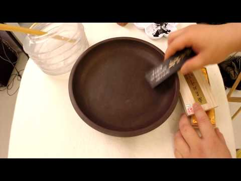 Easy Chinese Calligraphy - The Horror of Grinding Ink