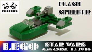 Lego Star Wars Magazine 12/16 Flash Speeder - Lego Speed Build