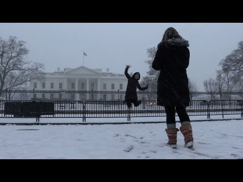 Mammoth 'Snowzilla' blizzard blankets Washington