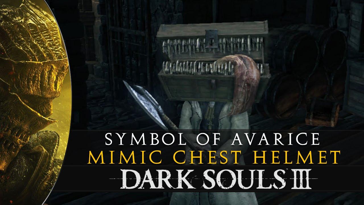 Dark souls 3 symbol of avarice mimic helmet location guide youtube biocorpaavc Gallery