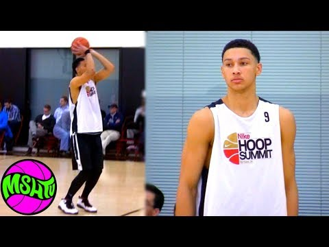 BEN SIMMONS CAN SHOOT 3's - Evidence Of Ben Simmons Three Point Range