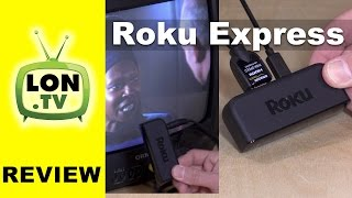 Roku Express / Express Plus Review - $29 Roku Streaming Box / The + works with old TVs!