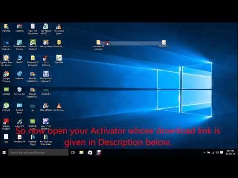 100% Working Activator for Windows 10 and MS Office 2013