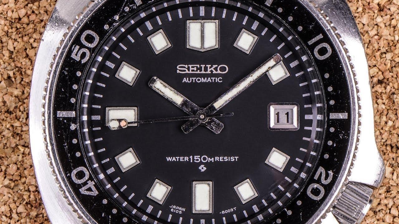 "Seiko 6105-8110 AKA The ""Captain Willard"""