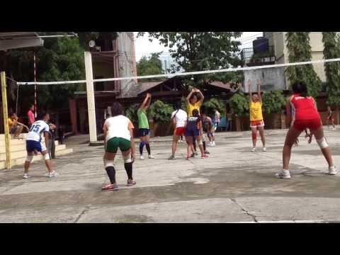 Tune-up game between Bohol Province & Tagbilaran City Girls Volleyball Team!