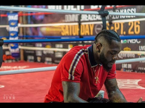 Training with the Champ: Deontay Wilder Bombsquad Training Camp