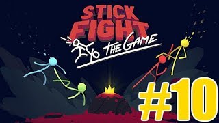 The FGN Crew Plays: Stick Fight The Game #10 - Go for HER!