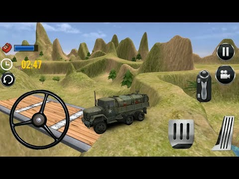 ARMY Truck Off Road Simulation 2018 (कार का गेम) - Android iOS Gameplay HD #cars #truck thumbnail