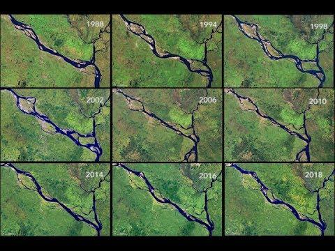 Padma River: The Shape of Erosion