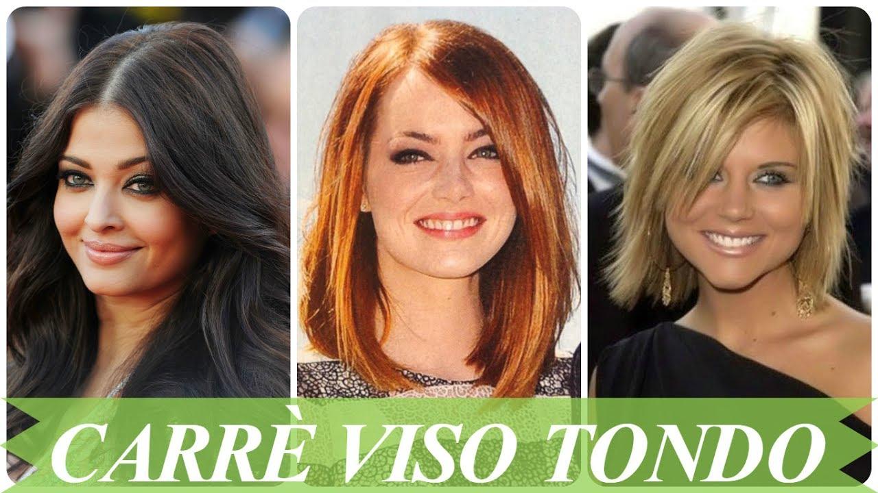 Famoso Nuovo look taglio capelli corti donne viso tondo - YouTube NI38