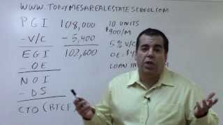 Florida Real Estate Exam Prep Math 1: Basic Income Property Analysis