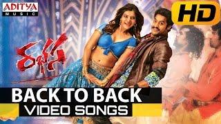 Rabhasa video songs back to back - jr ntr, samantha, pranitha