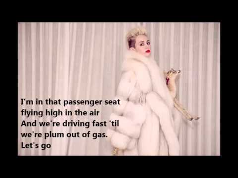 Miley Cyrus - ft. Nelly - 4x4 - (Official Lyrics)