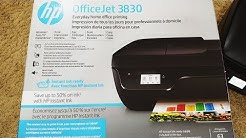 How to setup HP OfficeJet 3830 printer | HP OfficeJet 3830 printer review | SamSum Channel