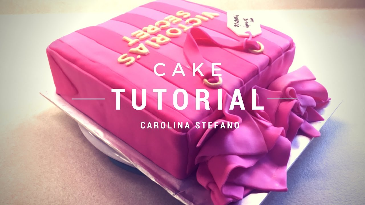 Victoria S Secret Bag Birthday Cake Bolo De Aniversario Decorado Sacola Victoria S Secret Youtube