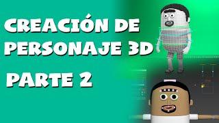 Creación de personajes 3d en 3DS MAX, RIGGING PARTE 2