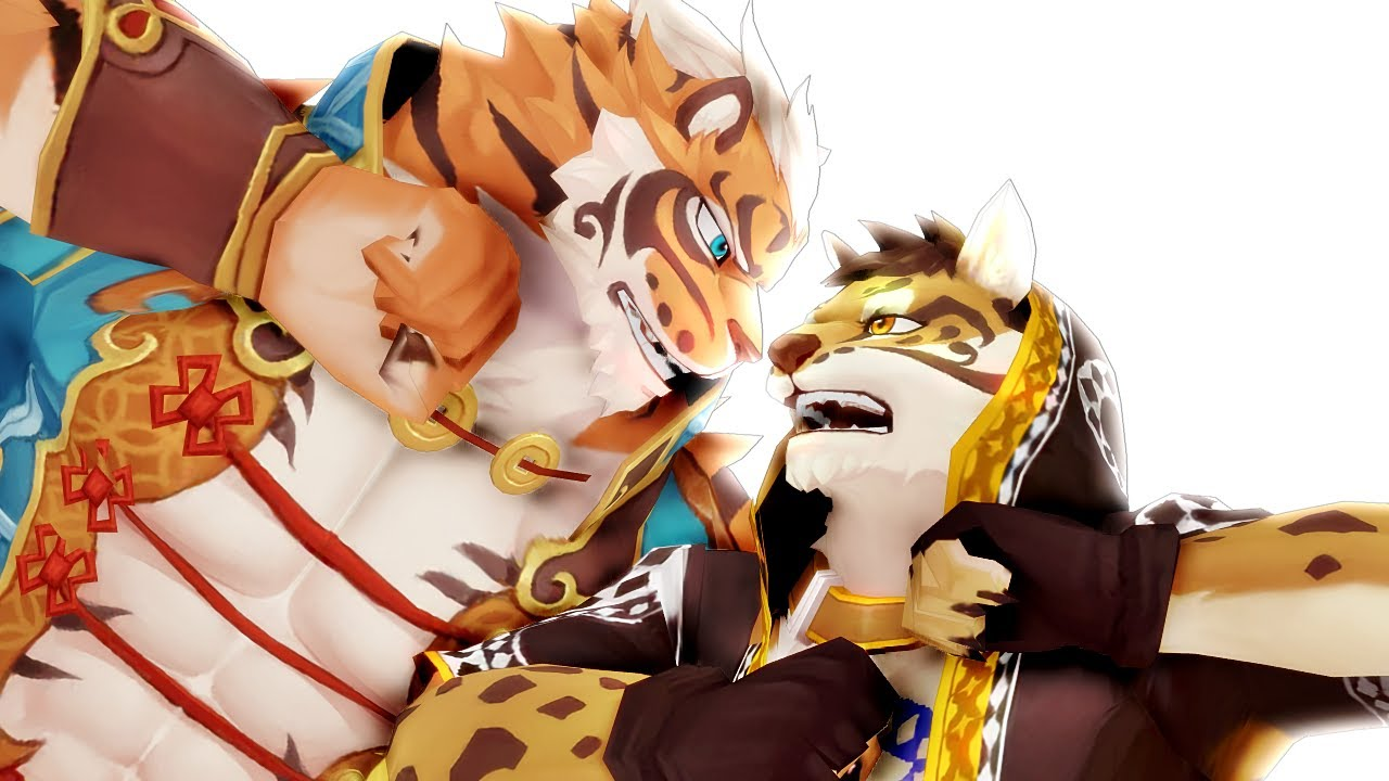 Nekojishi! Stop Fighting!  ͡° ͜ʖ ͡°  Dance~【MMD獣人】