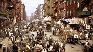 Historical NYC Mulberry Street Photo-Print