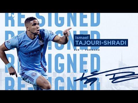 NYCFC Forward Ismael Tajouri Shradi Agrees to New Contract