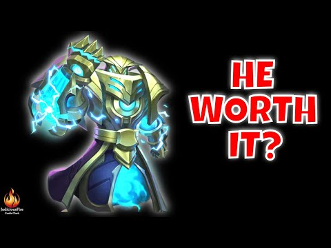 NEW HERO REVIEW Alphamech Castle Clash Heroes