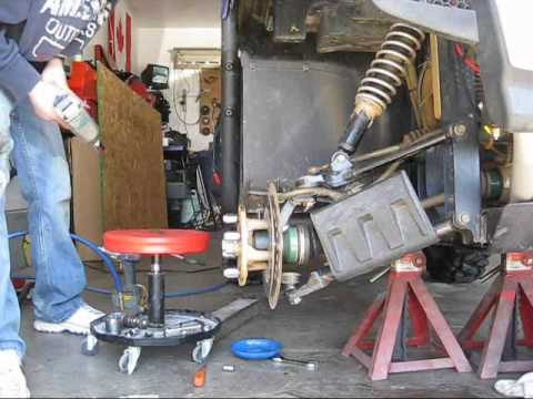 This Is How To Change Wheel Bearings On A Yamaha