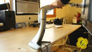 Ergotron Neo-Flex LCD Monitor Desk Arm Mount Overview and Review