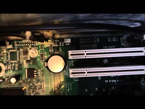 How To Replace Cmos Battery Inside Desktop Computer