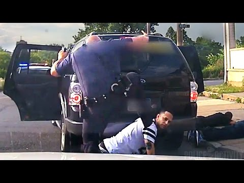 Dashcam Captures Cop Kicking Suspect in Head During Arrest