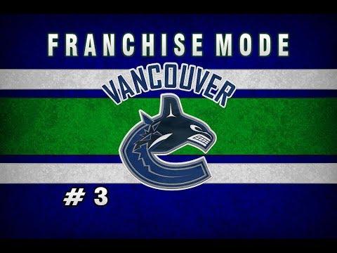 NHL 18 Vancouver Canucks Franchise Mode || Episode 3