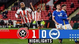 Sheffield United 1-0 Brighton & Hove Albion | Premier League Highlights | McGoldrick downs Seagulls