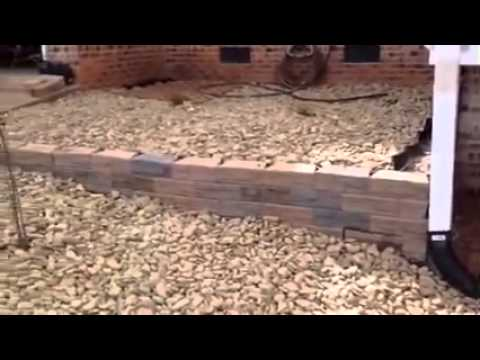 rock flower beds youtube. Black Bedroom Furniture Sets. Home Design Ideas