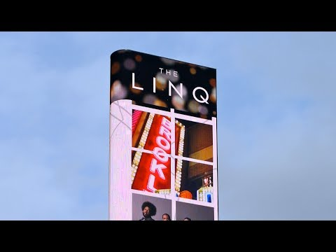 The LINQ Sign Las Vegas